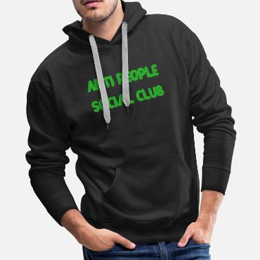 Anti Social Social Club Anti People Social Club Funny Funny - Men's Premium Hoodie