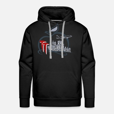 Big Apple TT Big Apple Symbol - Men's Premium Hoodie