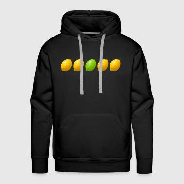 four lemons and a lime - Men's Premium Hoodie