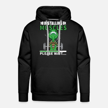 Instructor Muscle Workout Training Cool Gift - Men's Premium Hoodie