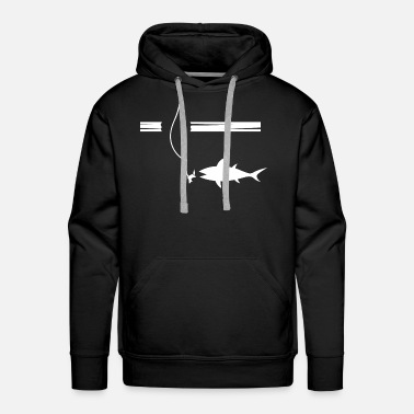 Ice Ice fishing - Men's Premium Hoodie