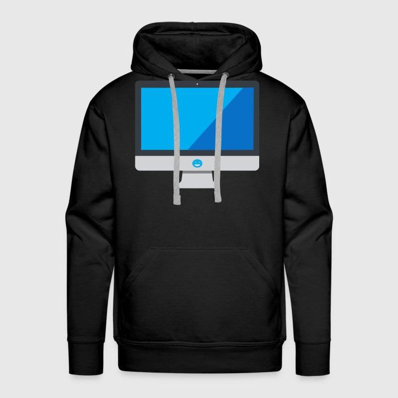 PumpedDigital Computer Monitor Jacket - Men's Premium Hoodie