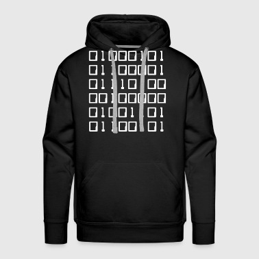 Binary Eat Me Binary - Men's Premium Hoodie