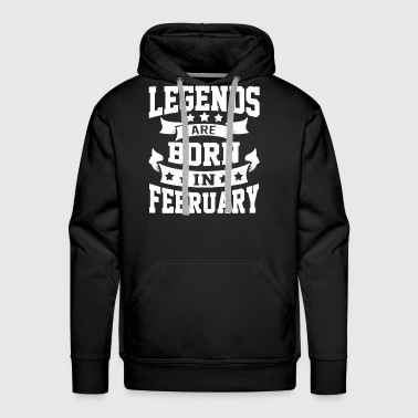 February shirt - Men's Premium Hoodie