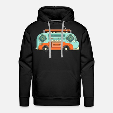 Stoner The Music Bus - Men's Premium Hoodie
