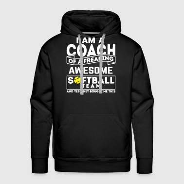 Softball Coach - Men's Premium Hoodie