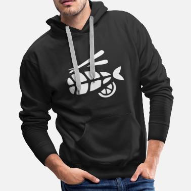 Meal Fish Meal - Men's Premium Hoodie