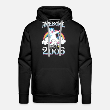 Since Awesome Since 2006 - Men's Premium Hoodie