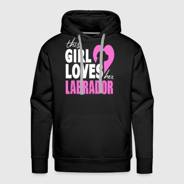 This Girl Loves Her Labrador - Men's Premium Hoodie