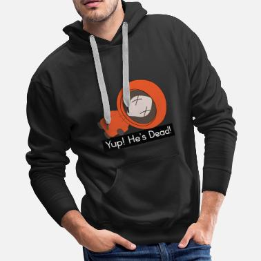 Kenny Kenny South Park Parody - Men's Premium Hoodie