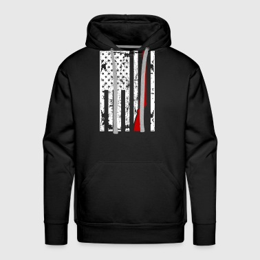 Sport Shooting Flag Shirt - Men's Premium Hoodie