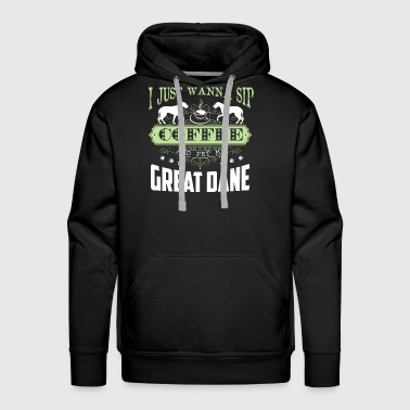 Great Dane Shirt - Men's Premium Hoodie
