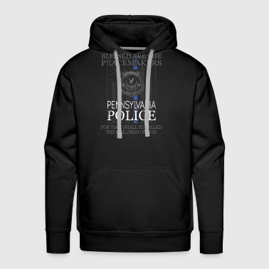 Pennsylvania Police Support Peacemakers Police Mom Shirt - Men's Premium Hoodie