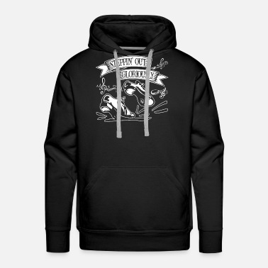 Steppin Tap Dancer Steppin Out Gloriously - Men's Premium Hoodie