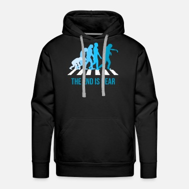 Epidemic End Is Near Zombie Evolution Walker Epidemic Gift - Men's Premium Hoodie