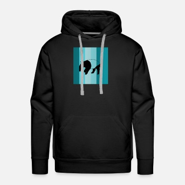 South Africa tapir - Men's Premium Hoodie