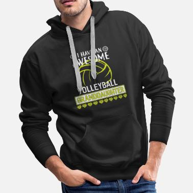 I have an awesome volleyball t shirts - Men's Premium Hoodie