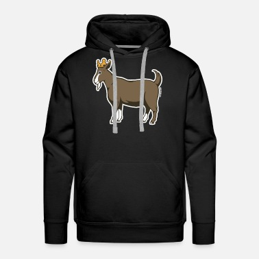 king goat farm - Men's Premium Hoodie