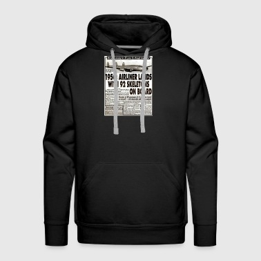 Ancient Alien Astronaut Theorist Missing Plane - Men's Premium Hoodie