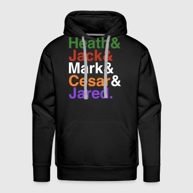 Heath heath and jack and mark cesar jared brother - Men's Premium Hoodie