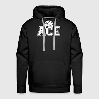 Ace - Volleyball - Total Basics - Men's Premium Hoodie