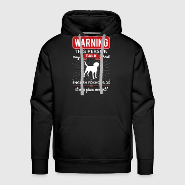 English Foxhound - Men's Premium Hoodie