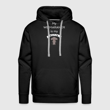 My Weimaraner BFF Dog Best Friend Forever Cute Gift Idea - Men's Premium Hoodie