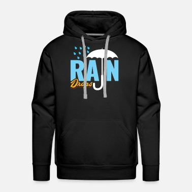 Jackets Raindrops kids birthday gift surprise - Men's Premium Hoodie