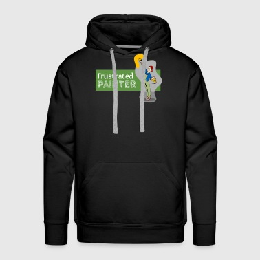 Frustration Frustrated Painter - Men's Premium Hoodie