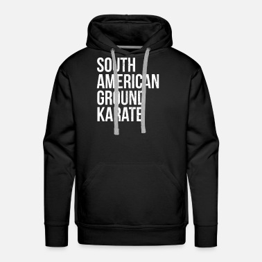 Awesome BJJ Brazilian Jiu Jitsu South American Ground - Men's Premium Hoodie