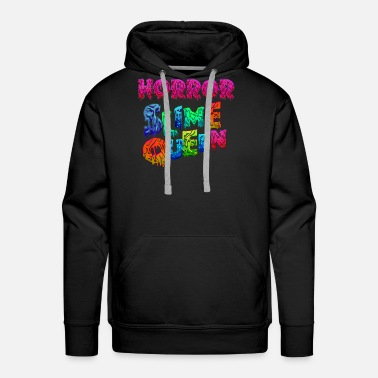 Peach Horror Slime Queen Horror Princess Halloween - Men's Premium Hoodie