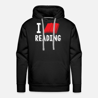 Matter I love reading books - Men's Premium Hoodie