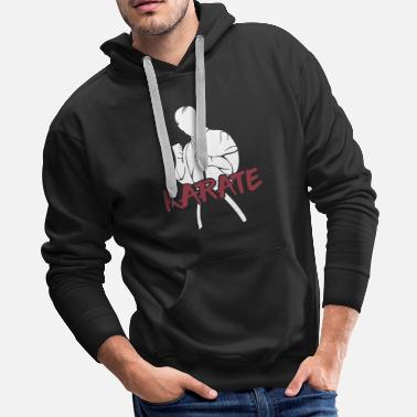Thailand Karate black belter fighter gift - Men's Premium Hoodie