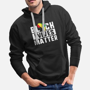 Black History Month Black Wives Matter TShirt Africa History Month - Men's Premium Hoodie