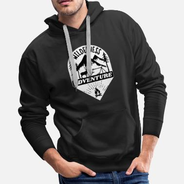 Trailer wilderness adventure - Men's Premium Hoodie