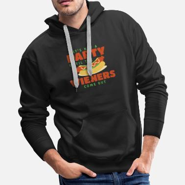 Meal party wieners - Men's Premium Hoodie