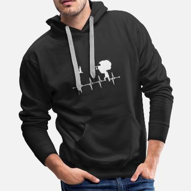 Bald Eagle Gift flock of birds forest animal birds - Men's Premium Hoodie