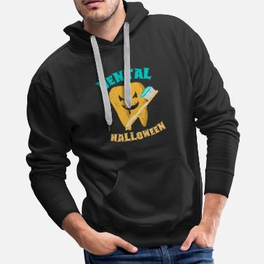 Wand Tooth Magical fairy halloween doctor gift - Men's Premium Hoodie