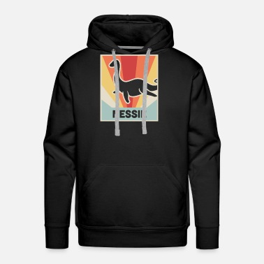 Loch Ness Monster Vintage Style Nessie | Loch Ness Monster - Men's Premium Hoodie