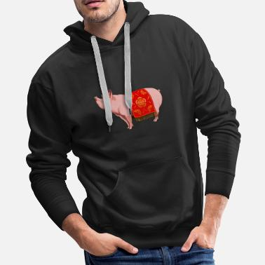 Chinese New Year Chinese New Year Pig - Men's Premium Hoodie