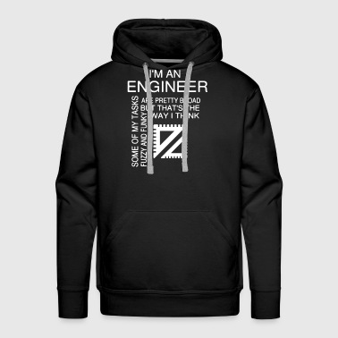 Engineers T-Shirt - Men's Premium Hoodie
