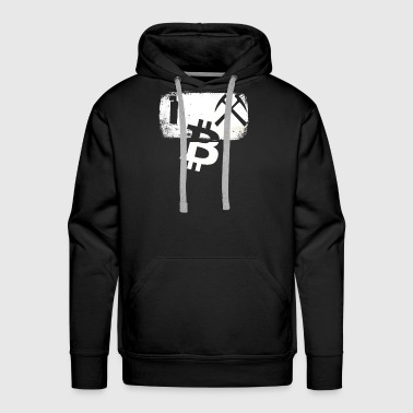 I Mine Bitcoin Novelty Bitcoin Mining - Men's Premium Hoodie
