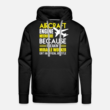 Aircraft Aircraft Engine T Shirt - Men's Premium Hoodie