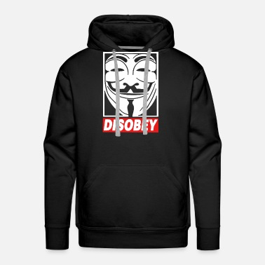 Anonymous Disobey Anonymous - Men's Premium Hoodie