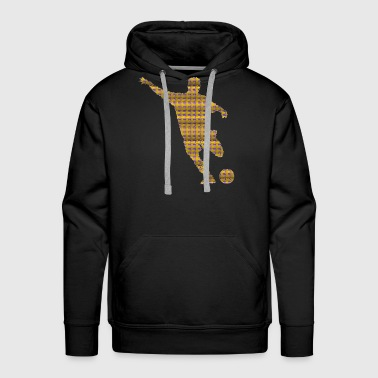 Soccer Exclusive Design Graphic gift idea artwork - Men's Premium Hoodie