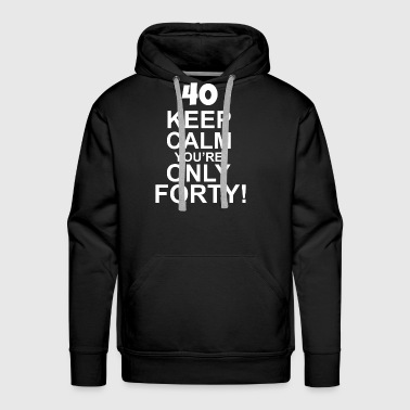 40th-birthday 40th Birthday - Men's Premium Hoodie