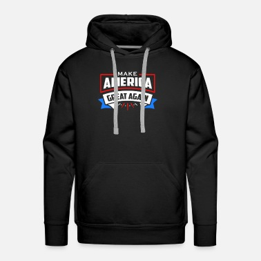 Red White And Blue MAGA Red White and Blue - Men's Premium Hoodie