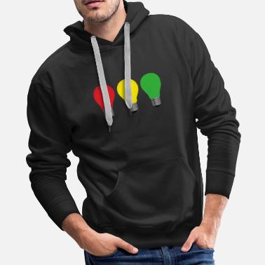 Light Bulb Light Bulbs - Men's Premium Hoodie