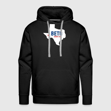 Poll Vote For Beto Texas Senate Polls Canvass 2018 Tees - Men's Premium Hoodie