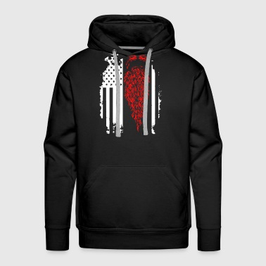 Beard Flag Shirt - Men's Premium Hoodie